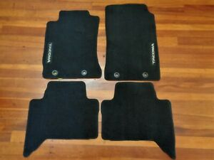 2015 Toyota Tacoma Double Cab Genuine Oem 4 Pc Black Carpet Floor Mat Set New