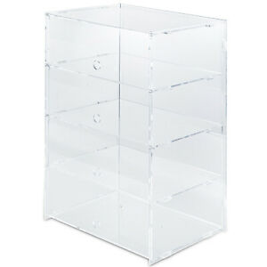 Acrylic Display Cabinet L13 X W10 23 X H19 7 Countertop Bakery Collectibles