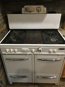 Antique 1940s Gaffers And Sattler Gas Stove Works Great