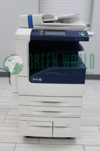 Xerox Workcentre 5335 B w Copy print scan fax email 35ppm 100 Total Impressions
