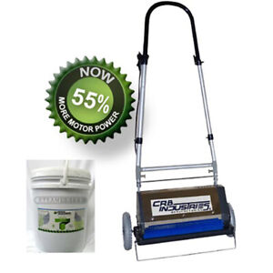 Crb17 Wide Pre scrubber And Dry Cleaning Machine Free Shipping Crb 17 Carpet Cln