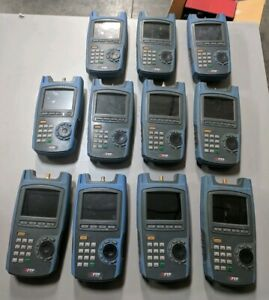 Lot Of 11x Trilithic Xftp Network Analyzer Missing Backs Sold For Parts repair