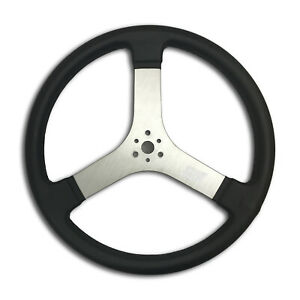 Mpi Racer Steering Wheel 16in Flat