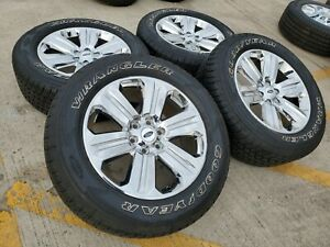17 Ford F 150 Expedition Oem Rims Wheels Tires Michelin New 3995 2017 2018 2019