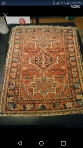 Antique Persian Prayer Rug Mat