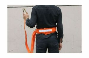 Huawell Safety Belt With Adjustable Lanyard Tree Climbing Construction Harne