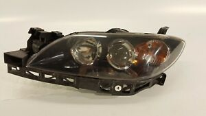 2004 2009 Mazda 3 Mazda3 Headlight Driver Left Halogen Lamp 05 06 07 08 09 Oem