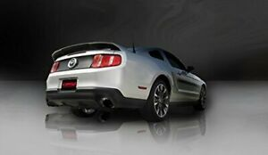Corsa 11 14 Ford Mustang Gt Boss 302 5 0l V8 Black Sport Axle Back Exhaust