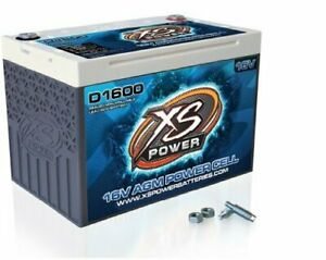 Xs Power D1600 16v 2 400 Amp Agm Battery With 3 8 Stud Terminal