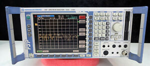 Rohde Schwarz Fsp3 Spectrum Analyzer 9khz To 3ghz Options B10 b25 Calibrated