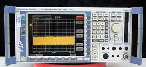 Rohde Schwarz Fsp3 Spectrum Analyzer 9khz 3ghz Options B10 b25 k9 Cal d