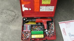 Hilti Dx 350 Powder Actuated Fastener Gun Case And Extras 829