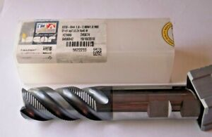 New Iscar Roughing 1 X 1 X 2 Loc X 5 Oal Carbide End Mill 4 Flute Aitln