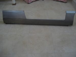 Pantera De Tomaso Rocker Panel Custom Made Complete With 2 Other Pieces