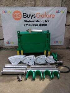Greenlee 885te Emt Hydraulic Pipe Bender 2 1 2 To 4 Inch With Pump 881 881ct