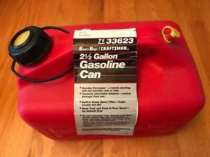 brand New Craftsman Ez Pour 2 1 2 Gallon Gas Can