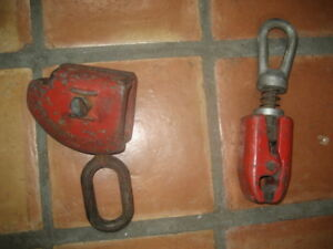 Lot Of 2 Frame Machine Clamps 1 Is Blackhawk
