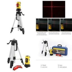 Co z Line Laser Level With Tripod Auto Leveling Kit Combo With