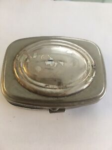 Antique Sterling Silver Snuff Pill Box Argento From Italy