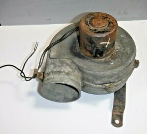1957 Mg Magnette Heater Blower Fan Motor Assembly tested And Guaranteed Nice mv