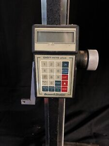 Brown Sharpe Digit hite Plus Height Gage 599 1015 Used