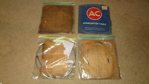 Lot Of 4 1920 s 1930 s Vintage Ac Nos nors Speedometer Cables Ford Chevy 27