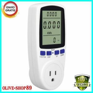 Kuman Electricity Usage Monitor plug Power Meter Energy Watt Voltage Amps Meter