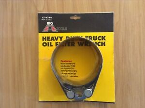 Big A Tools Heavy Duty Truck Oil Filter Wrench U S A Made