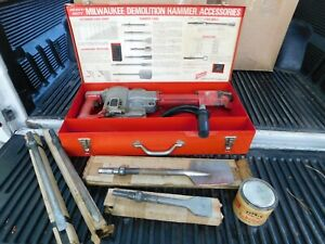 Milwaukee Tool Demolition Hammer 5330 Electric Corded W Accessories Heavy duty