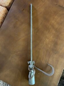 Antique Hanging Brass Barn Scale Balance Scale