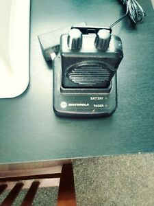 Motorola Minitor V 5 Vhf Band Pager 159 166 9975 2 Tone Voice Voice Pagers