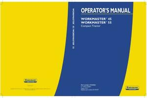 New Holland Workmaster 45 55 Compact Tractor Operator s Manual