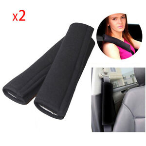 2 Pcs Comfortable Car Safety Seat Belt Shoulder Pads Cover Cushion Harness Pad