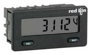 Red Lion Cub5vr00 Dc Voltmeter W Reflective Display