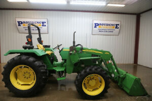 John Deere 5045e Tractor Loader Open Rops 4x4 And Ready To Work