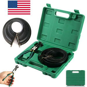14pcs Piston Ring Compressor Tools Set For Car Truck Auto Engine With Pliers Set