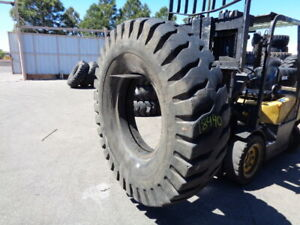 18 00x33 Bkt Otr Tire E 3 E3 36 ply Used 60 32 Tread Section 18 00 33 Bias
