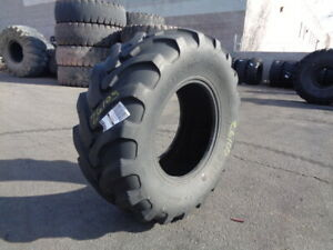 19 5l24 Solideal Otr Tire R 4 R4 12 ply Used 32 32 Tread Section Bias