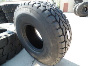 20 5r25 Double Coin Otr Tire Crane Rem8 2 star Used 34 32 Sidewall Bead Wrap S