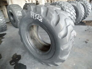 20 5x25 Firestone Otr Tire L 2 L2 12 ply Used 24 32 Tread Section Bead Tread S