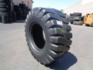 20 5x25 Goodyear Otr Tire E 3 L 3 Hrl 12 ply Used 20 32 Tread Section Sidewall