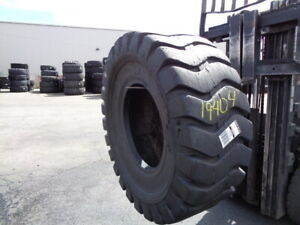 20 5x25 Milepro Otr Tire E 3 L 3 E3 l3 20 ply Used 30 32 Sidewall Section 20 5 2