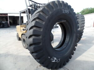 21 00x35 Titan Otr Tire E 4 Cm150 42 ply Used 33 32 Sidewall Tread Spots 21 00 3