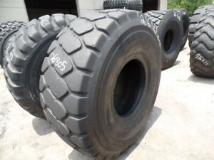 23 5r25 Bridgestone Otr Tire E 3 L 3 Vmt 1 star Used 22 32 Shoulder Section 23 5