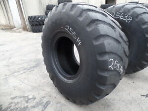 23 5r25 Goodyear Otr Tire E 3 L 3 G 3 Gp2b 2 star Used 18 32 Sidewall Section