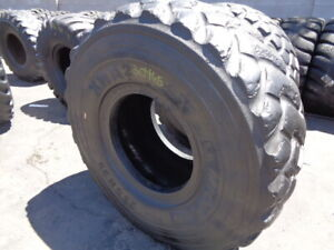 23 5r25 Michelin Otr Tire E 3 L 3 Xha2 1 star Used 23 32 Sidewall Bead Tread Spo