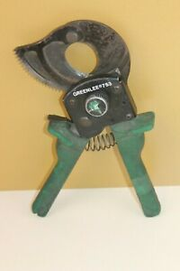 Greenlee 753 Compact Ratchet Cable Cutter