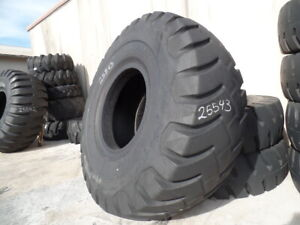 37 5x39 Firestone Otr Tire E 3 E3 52 ply Used 44 32 Clean 37 5 39 Bias