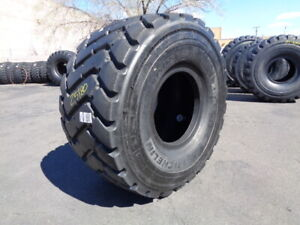 875 65r29 Michelin Otr Tire E 3 L 3 Xha2 2 star Used 48 32 Tread Section Tread