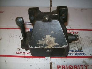 Burke Mill Milling Machine No 4 Power Feed Gear Box Assembly